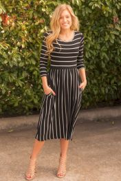 Formal midi dresses outfits 63