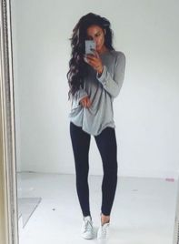 Outfits with leggings 46