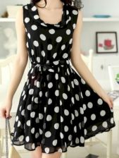 Polkadot short dress 10