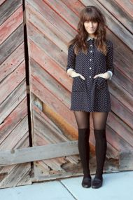 Polkadot short dress 30