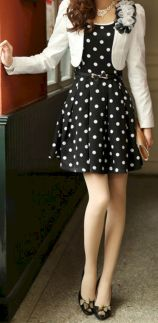 Polkadot short dress 33