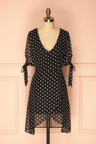 Polkadot short dress 35
