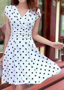 Polkadot short dress 41