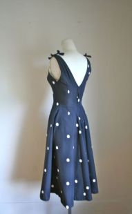 Polkadot short dress 43