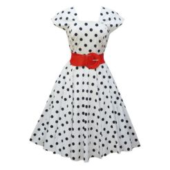 Polkadot short dress 52