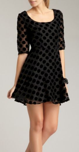 Polkadot short dress 58