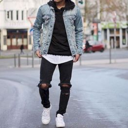 Ripped jeans for men 28