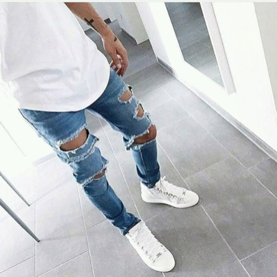 Ripped jeans for men 39