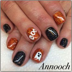 Halloween nails that you must try at halloween party 14