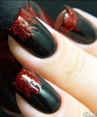 Halloween nails that you must try at halloween party 5