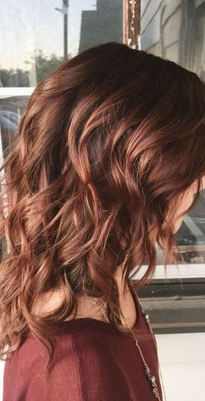 Inspiring haircolor style for winter and fall 15