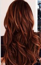 Inspiring haircolor style for winter and fall 26