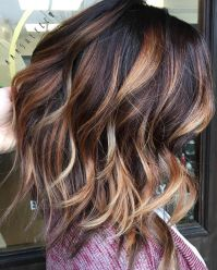 Inspiring haircolor style for winter and fall 39