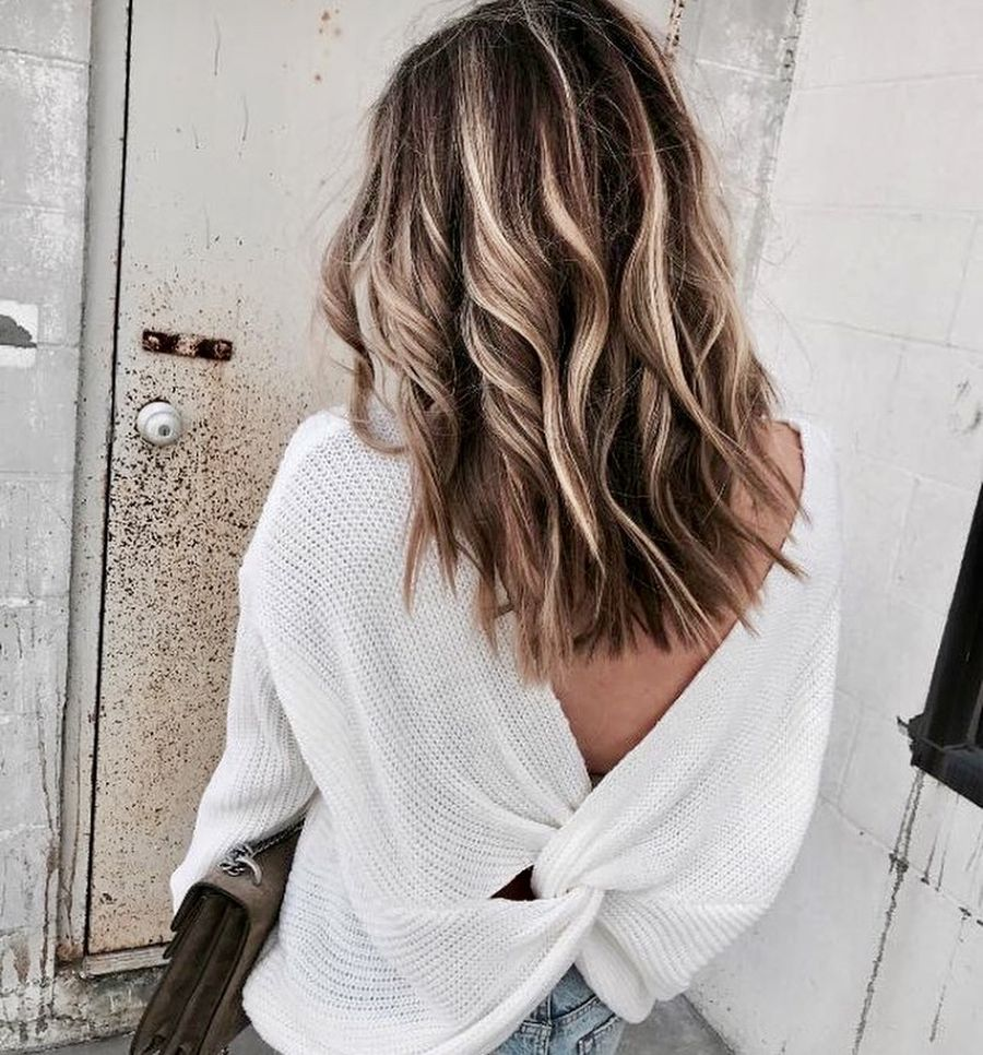 Inspiring haircolor style for winter and fall 49