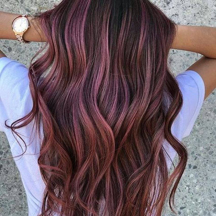 Inspiring haircolor style for winter and fall 61