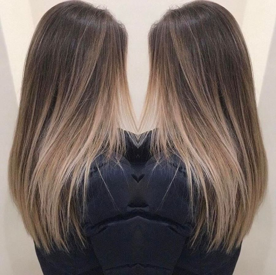 Inspiring haircolor style for winter and fall 9
