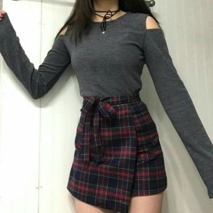 Skirt trends ideas for winter outfits this year 19