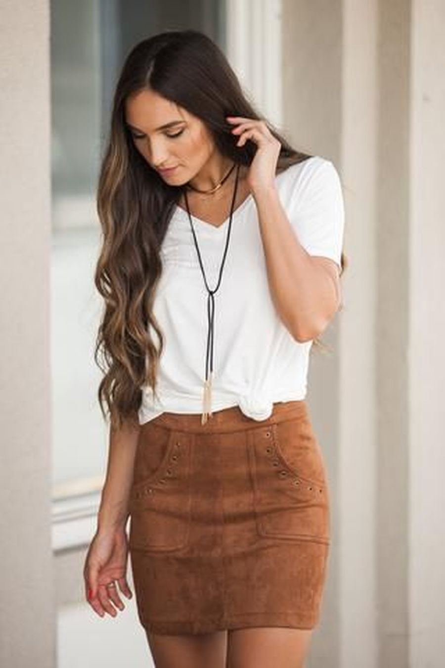 Skirt trends ideas for winter outfits this year 20