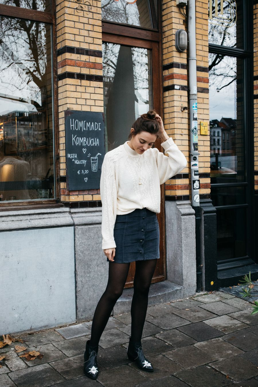 Skirt trends ideas for winter outfits this year 28