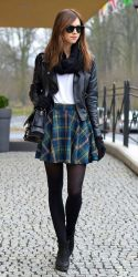 Skirt trends ideas for winter outfits this year 4