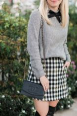 Skirt trends ideas for winter outfits this year 43