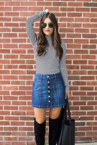 Skirt trends ideas for winter outfits this year 47