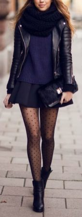 Skirt trends ideas for winter outfits this year 5