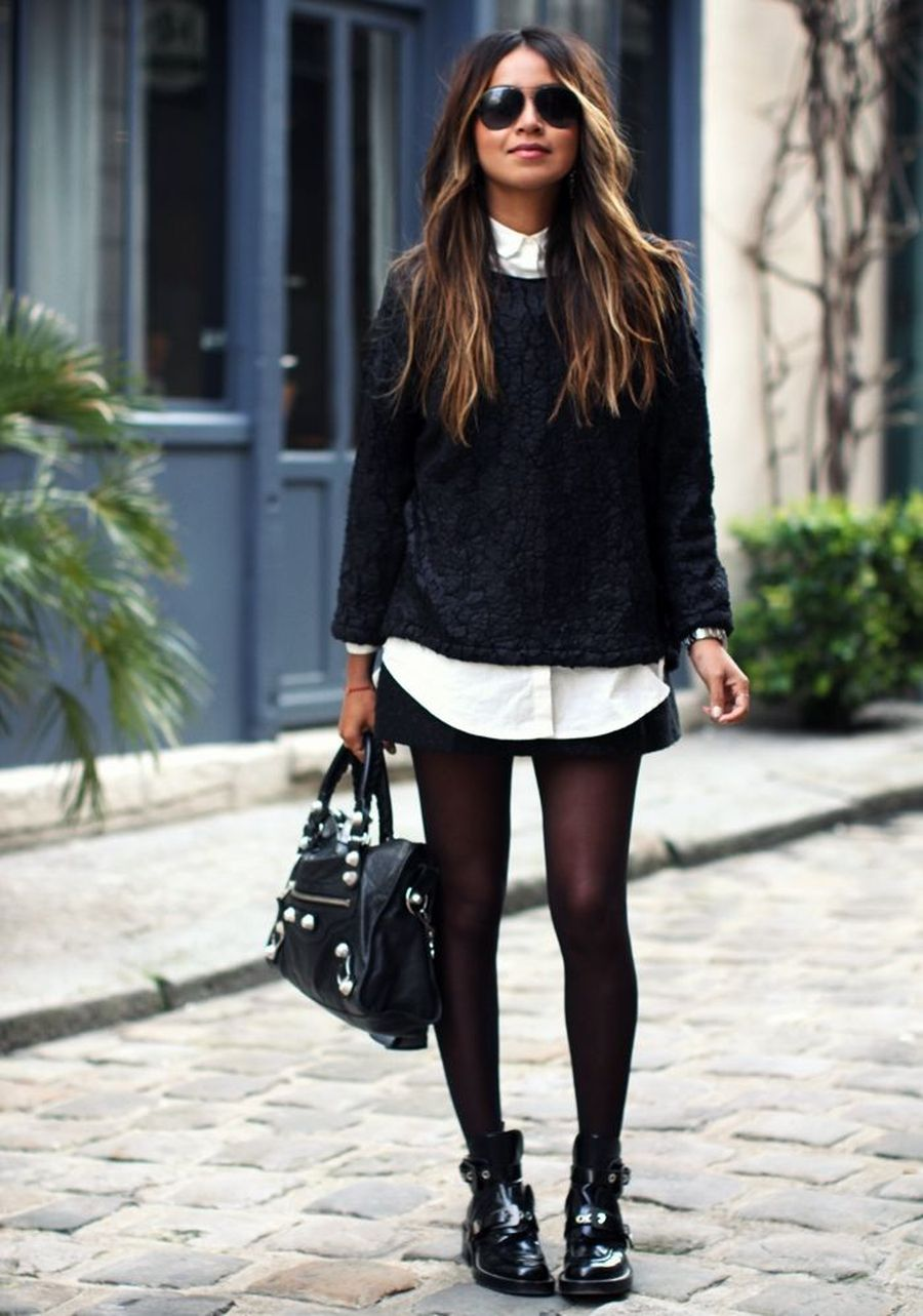 Skirt trends ideas for winter outfits this year 63