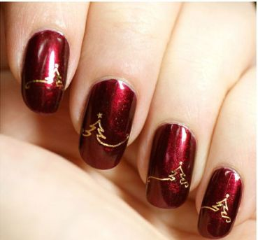 Cool holiday nails arts 38