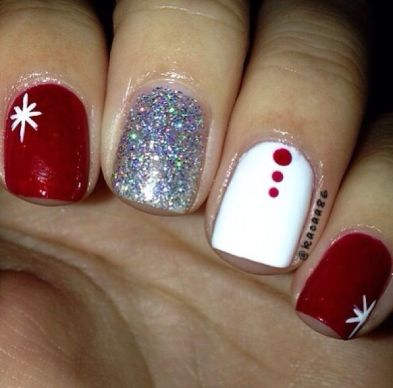 Cool holiday nails arts 50
