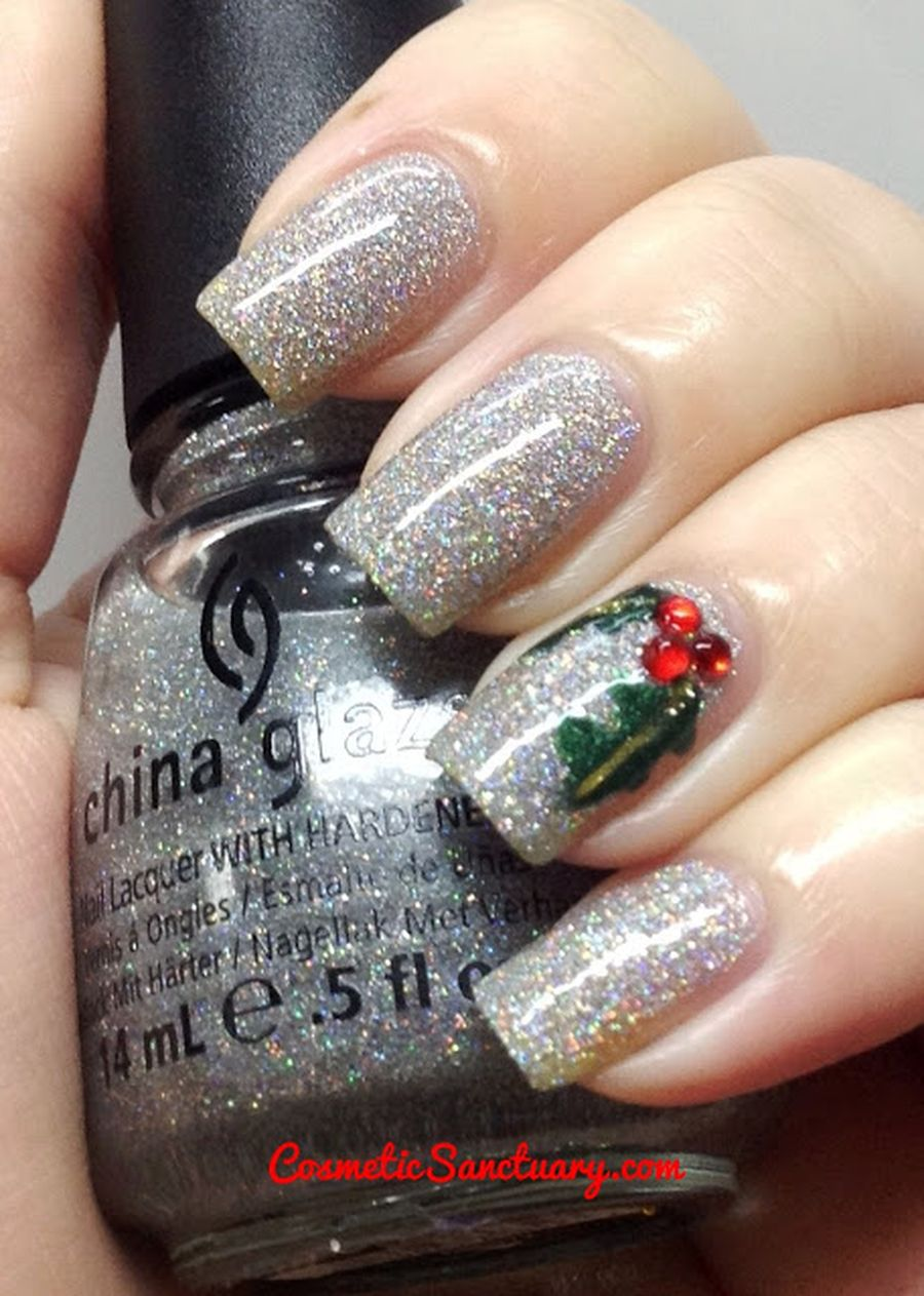 Cool holiday nails arts 77