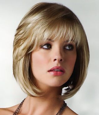 Cool hair style with feathered bangs ideas 23