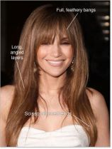 Cool hair style with feathered bangs ideas 27