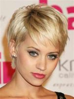 Cool hair style with feathered bangs ideas 8