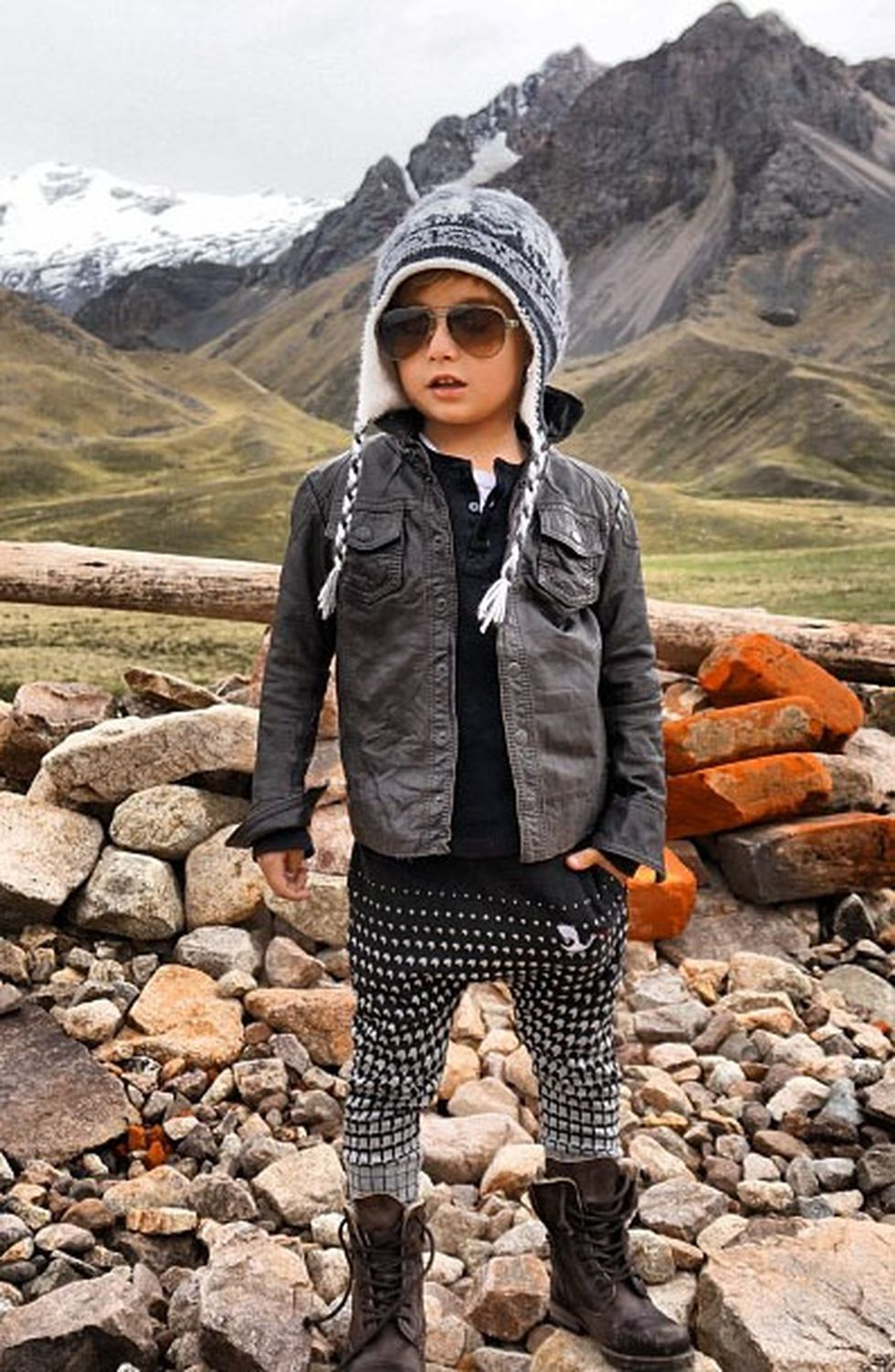 Cute kids fashions outfits for fall and winter 11