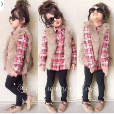 Cute kids fashions outfits for fall and winter 17