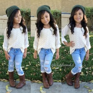 Cute kids fashions outfits for fall and winter 21