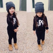 Cute kids fashions outfits for fall and winter 46