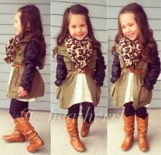 Cute kids fashions outfits for fall and winter 54