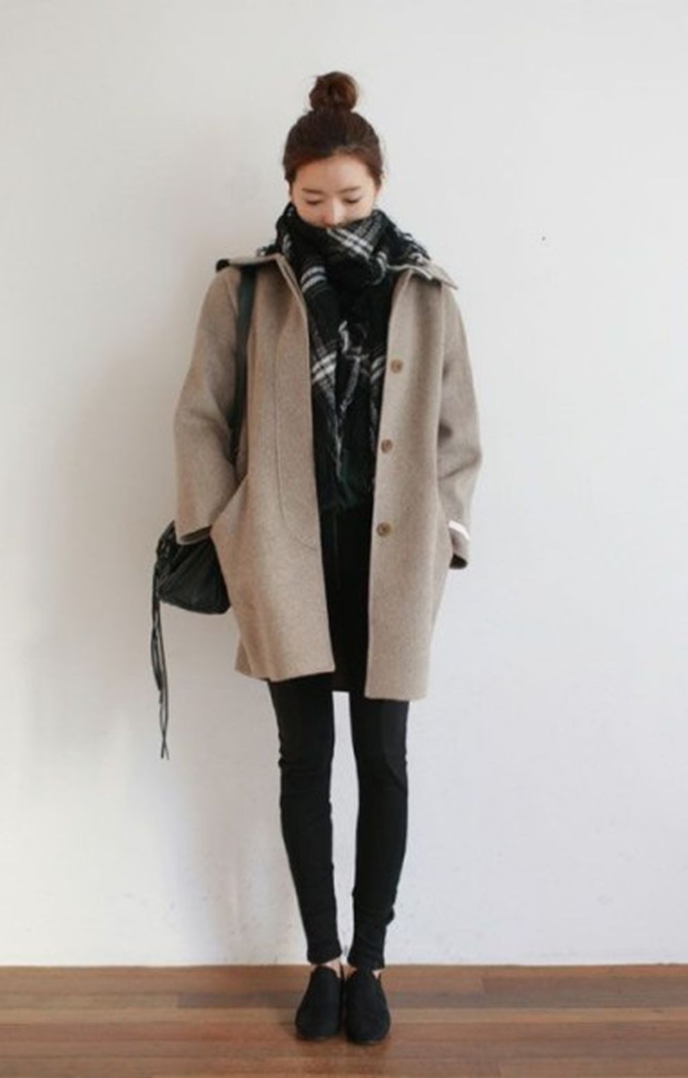 Fashionable scarves for winter outfits 109