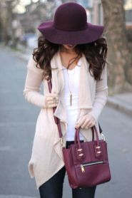 Fashionable women hats for winter and snow outfits 10