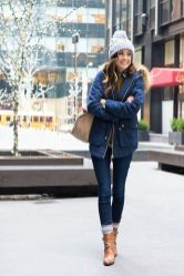 Fashionable women hats for winter and snow outfits 68