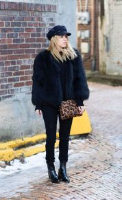 Fashionable women hats for winter and snow outfits 73