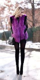 Fashionable women snow outfits for this winter 26