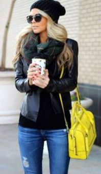 Fashionable women snow outfits for this winter 5