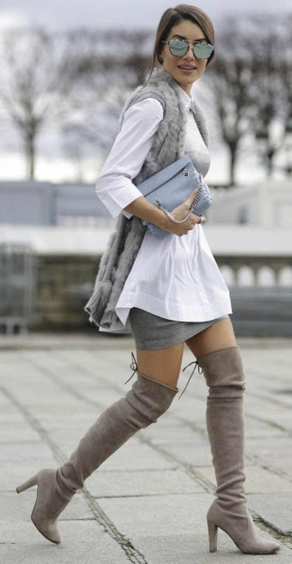 Fashionable women snow outfits for this winter 9