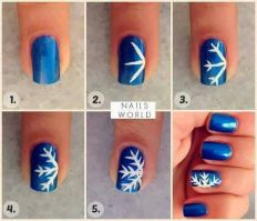 Gorgeous christmas nails ideas 103
