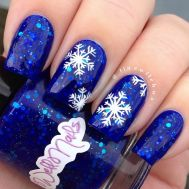 Gorgeous christmas nails ideas 105