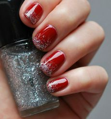 Gorgeous christmas nails ideas 48