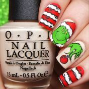 Gorgeous christmas nails ideas 76